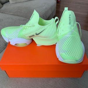 Nike Air Zoom SuperRep in Volt/White
